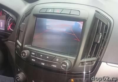 динамические парковочные линии на штатной магнитоле Opel Insignia
